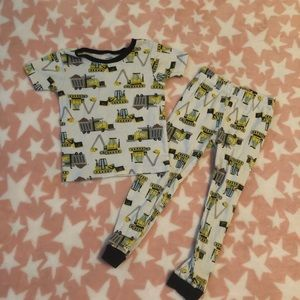 Carters 4T Construction Pajamas